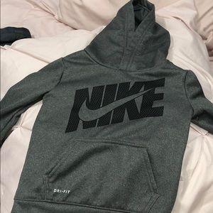 Nike DriFit Toddler Grey Hoodie